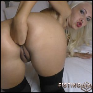 Anal training Deep anal fisting closeup with egedn777- Full HD-1080p, Solo, Fisting (Release December 27, 2016)