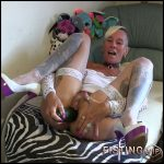 CUCUMBER hard and horny in with lady-isabell – Full HD-1080p, Solo, anal and vaginal fisting, cucumber (Release December 18, 2016)