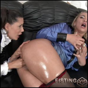 Eat Ass, Bitch! Lick Sick, Bitch! Fuck Like A Freak, Bitch! Act Like A Bitch, Babe!!! Big Tits Meet Wet Pussy & So We Get – 4K, lesbians, anal and vaginal fisting (Release December 25, 2016)