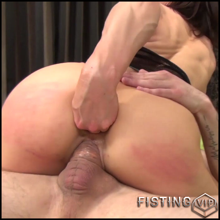 Mature french anal fisting