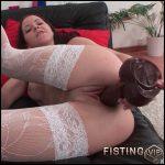 Lisa Toy Slut  – HD-720p, Big Dildo, Masturbation, Stockings, Russian Girl (Release December 18, 2016)