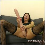 Long dong in the ass and fisting – Full HD-1080p, anal and vaginal fisting, Solo, Biggest Dildo (Release December 19, 2016)