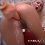 Milk in asshole Anal plug closeup with egedn777 – Full HD-1080p, Giant Dildo, Toys, Solo, Fisting  (Release December 25, 2016)