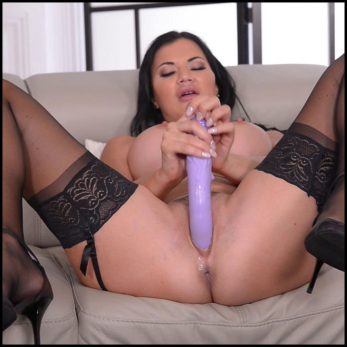 Stockings Big Tits Milf Solo