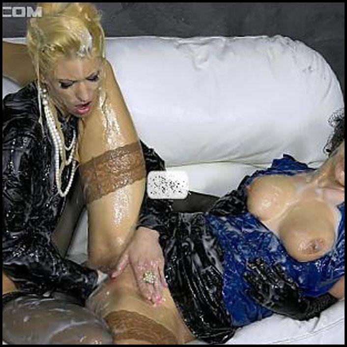 Panties ball sucking virgin redhead