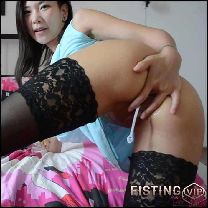 AsianDreamX - Getting off from my FORBIDDEN videos - Full HD-1080p, Giant Dildo, Toys, Solo, Anal, Toys, Masturbation (Release January 24, 2017)