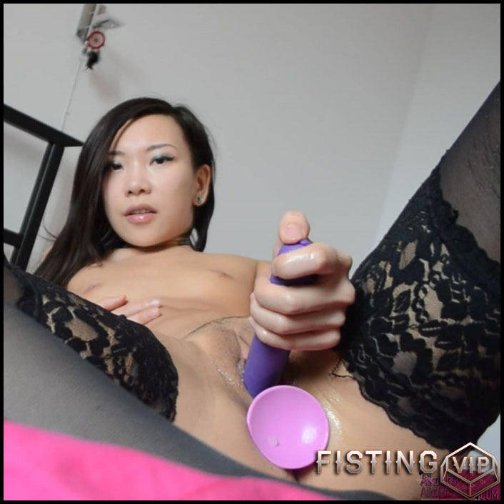 AsianDreamX - Getting off from my FORBIDDEN videos - Full HD-1080p, Giant Dildo, Toys, Solo, Anal, Toys, Masturbation (Release January 24, 2017)1