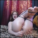 Gingersypce ANAL Domination Hour Live pt1 – HD-720p, Giant Dildo, Toys, Solo, Fisting (Release January 7, 2017)