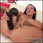 Huge dildo equals huge satisfaction – HD-720p, Giant Dildo, Toys, Solo, Fisting (Release January 4, 2017)