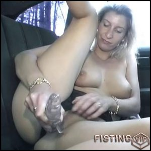 Live car sex with blondie – HD-720p, Anal Toy, Solo, Biggest Dildo (Release January 21, 2017)