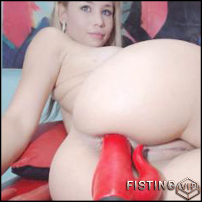 Natasha10 Red Toy - Toys, Solo, Fisting (Release January 17, 2017)