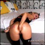Really hard anal masturbation – egedn777 – Full HD-1080p, Dildo, Fisting, Solo (Release January 24, 2017)