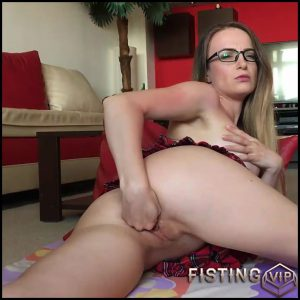 School girl fisting her pussy Josslyn Kane – Full HD-1080p, Toys, Solo, Anal, Dildo, Fisting (Release January 11, 2017)
