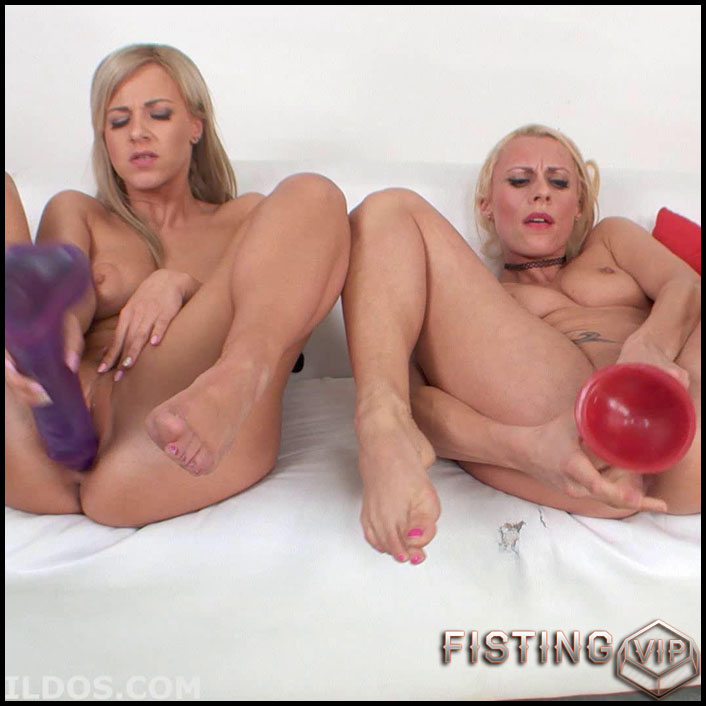 BrutalDildos Nathaly Cherry And Britney Bardot - Full HD-1080p, Big Toys Dildo, Big Tits, Masturbation (Release February 3, 2017)