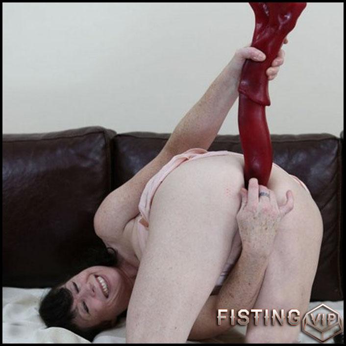 DirtyGardenGirl - Mr.Edd cock and big prolapse - Full HD-1080p, Giant Dildo, Toys, Solo, Prolapse(Rosebutt) (Release February 27, 2017)1
