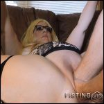 Double fisting Julies pussy – HD-720p, Solo, fatty girl, Anal, Toying (Release February 10, 2017)