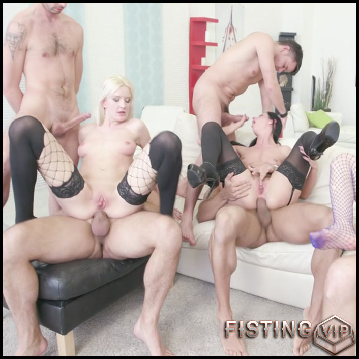 Fisting Madness Bree Haze, July Sun, Tera Link with DP - HD-720p, DAP ,GAPES ,Anal Fist ,DoubleB, ATOM, Cumswappin, Swallow (Release February 5, 2017)