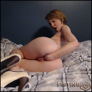 Fisting in heels – Full HD-1080p, Anal, BlowJobs, Anal Toy, Small tits, Shaved, Teen, Solo (Release February 4, 2017)