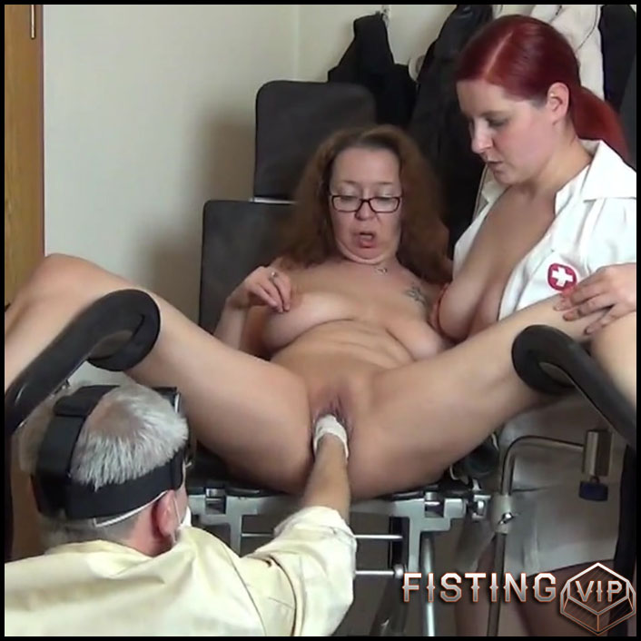 Fisting treatment in the sex clinic - Full HD-1080p, Prolapse(Rosebutt), Anal, BlowJobs (Release February 4, 2017)