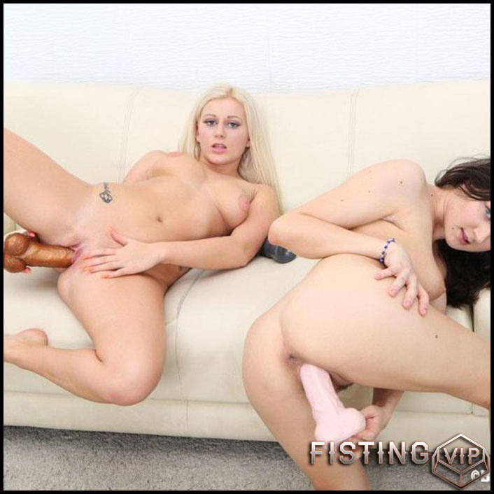 Francesca DiCaprio and Roxy Black - Full HD-1080p, Biggest Dildo, Anal, Toys, Masturbation (Release February 26, 2017)