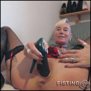 HEELS – what can you do with a heel with lady-isabell – Full HD-1080p, Anal, extreme fisting, hardcore fisting (Release February 6, 2017)