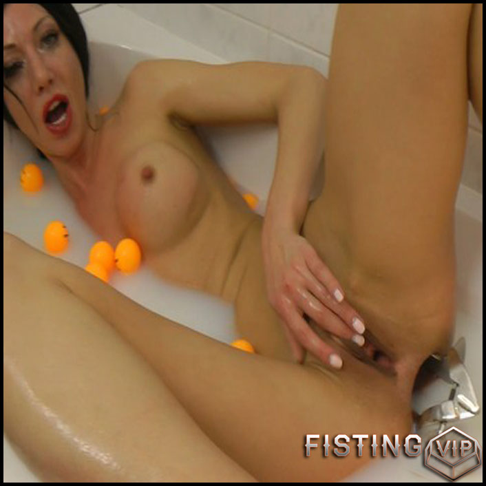 Hotkinkyjo - Full HD-1080p, Speculum, AnalToys, Anal Fisting, balls (Release February 26, 2017)