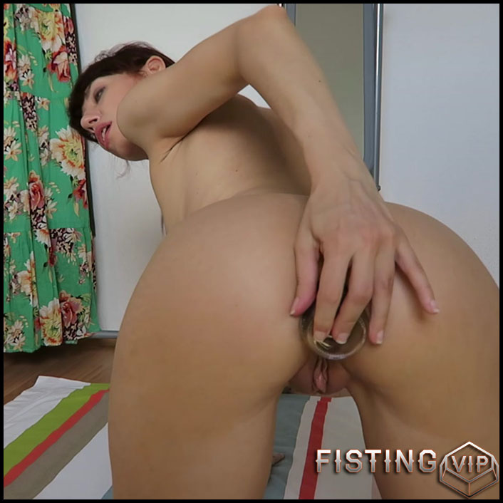 Mylene - Glass Coca Cola bottle anal fuck - Full HD-1080p, bottle, Anal, Solo (Release February 3, 2017)1