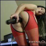 Prolapsing secretary – Full HD-1080p, Fisting, Dildo (Release February 5, 2017)
