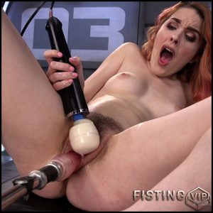 Spanish Red Head Machined Fucked Into Uncontrollable Orgasms – HD-720p, Sex Machine, Vibrator, AnalToys, Anal Fisting (Release February 20, 2017)