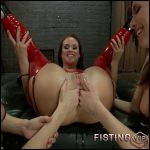 A Journey into the Extreme – Dana DeArmond, Roxy Raye, Casey Calvert – lesbian fisting, sex fisting, free fisting (Release March 05, 2017)