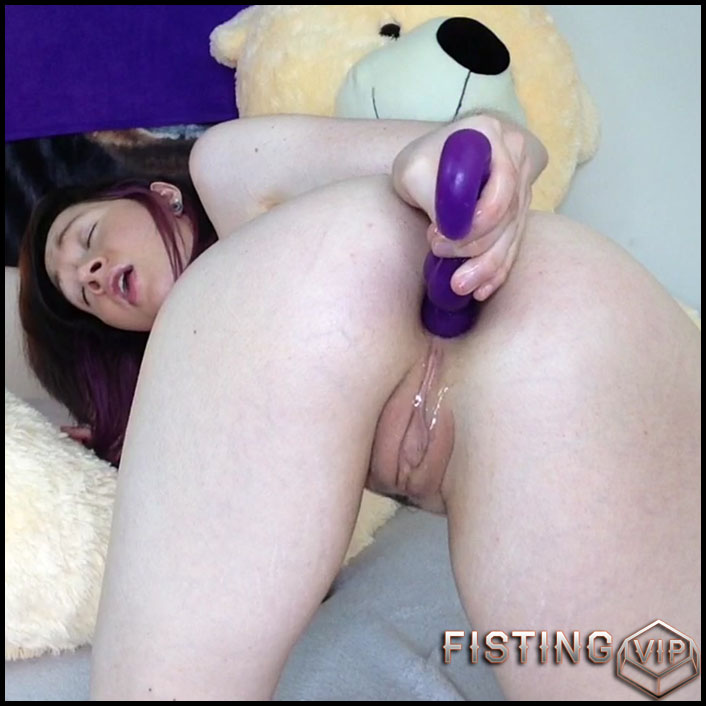 Anal Fuck and Tricks for Daddy- HD-720p, Anal Toy, Small tits, Shaved, Teen, Solo (Release March 29, 2017)2