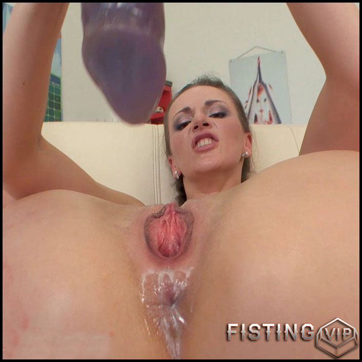 BrutalDildos - AFINA - Full HD-1080p, Solo, Biggest Dildo, Anal (Release March 29, 2017)
