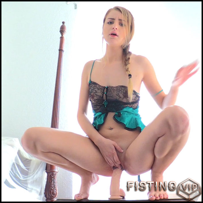 Harley - Sweet And Naughty 4 part - Full HD-1080p, Giant Dildo, Toys, Solo, MILF, dildo, anal play, Fisting (Release March 25, 2017)