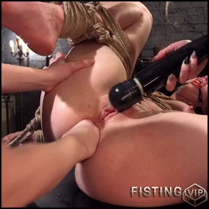 Mona Wales Hazed, domed & fucked by Maitresse Madeline & Aiden Starr – HD-720p, lesbian fisting, fisting video (Release March 21, 2017)