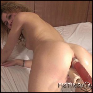 Wide Pussy – double fisting, Giant Dildo, Toys (Release March 05, 2017)