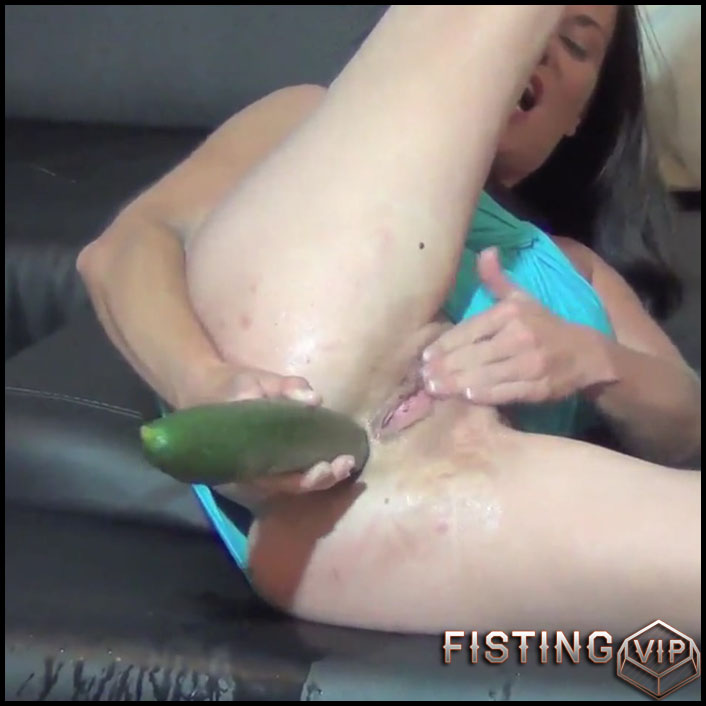 Cucumber Squirt - Full HD-1080p, big pussy fisting, Foot Fetish, Toys, Fisting (Release April 22, 2017)