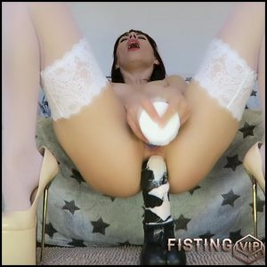 Facial, asshole & pussy toy fuck – Full HD-1080p, double fisting, extreme fisting (Release April 20, 2017)