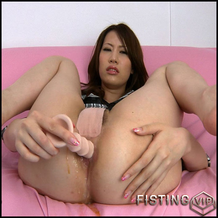 Fetish-Tokyo - Prolapse Anal Dildo Masturbation - HD-720p, Prolapse, Anal, Dildo (Release April 7, 2017)