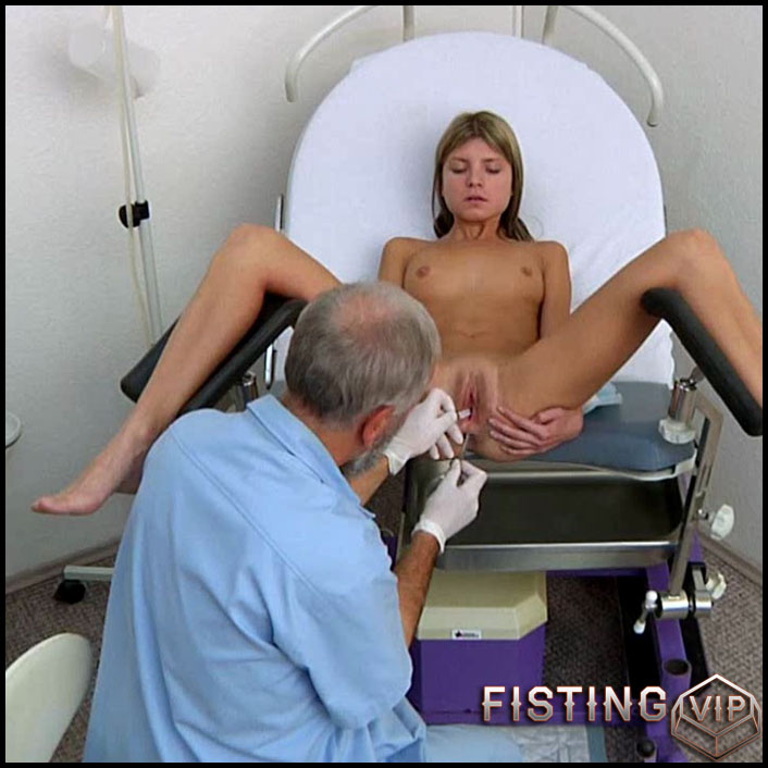 Gina Gerson Gyno Exam - HD-720p, at the doctor's, Speculum, Vibrator, AnalToys (Release April 13, 2017)1