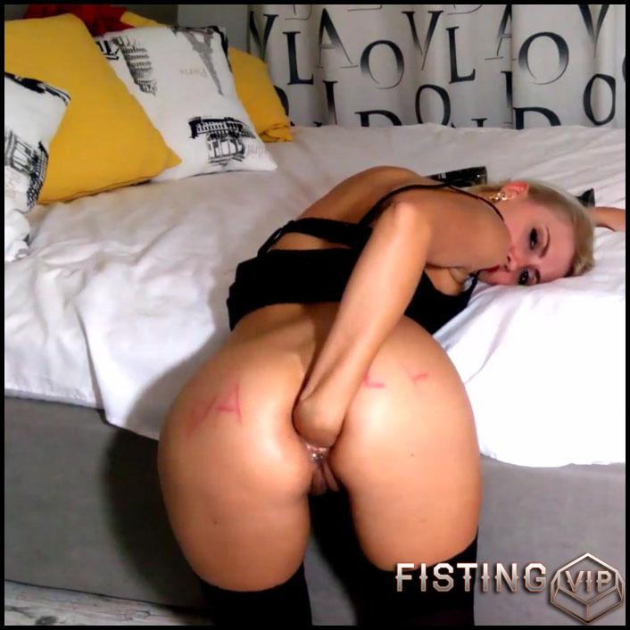 Hard Anal Masturbation Solo