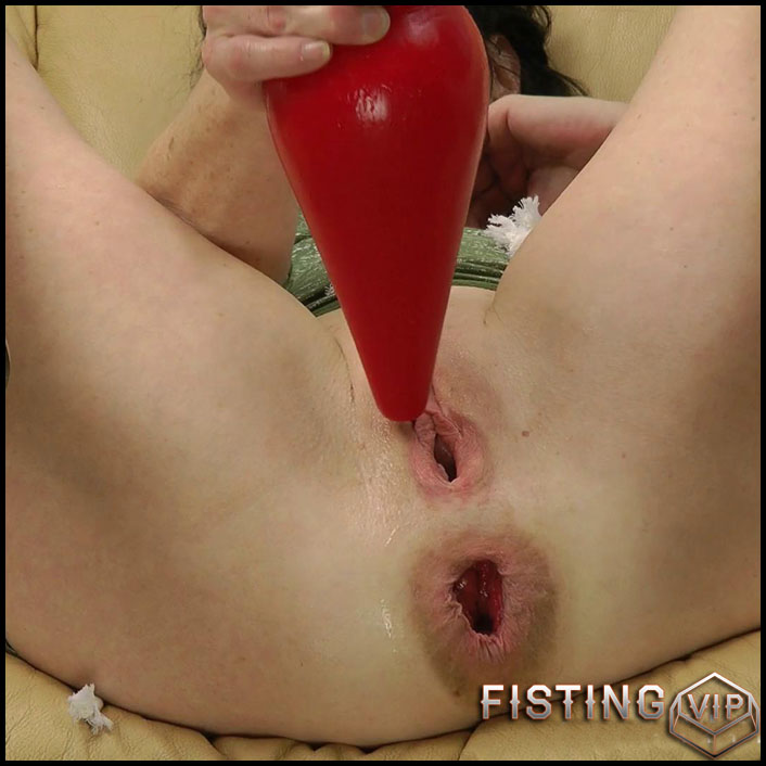Red plug in the butt - Full HD-1080p, Prolapse(Rosebutt), Anal, Dildo, Fisting (Release April 27, 2017)1
