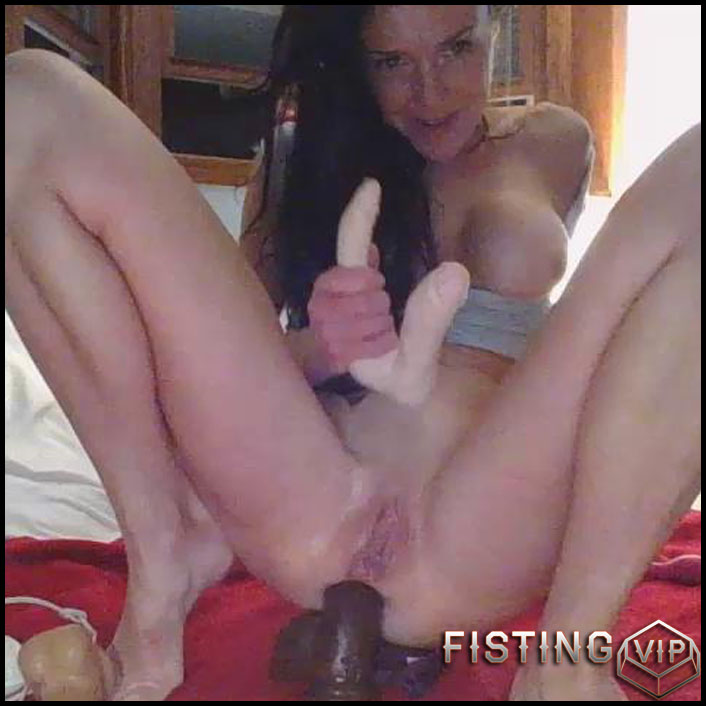 Latina Webcam Anal Dildo