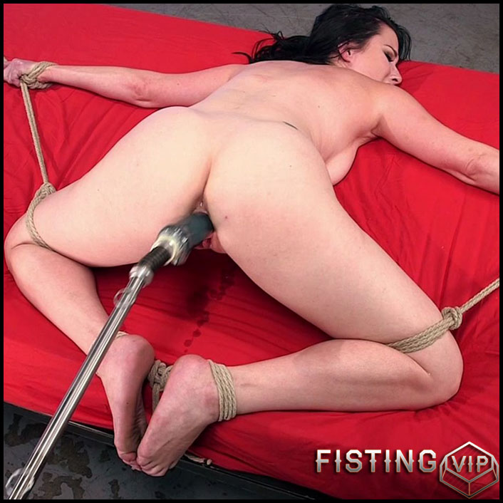 Bondage and Fucking Mcahines with Veruca James - HD-720p, Sex Machine, Vibrator, AnalToys (Release May 19, 2017)