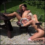 Eveline Dellai and Lola outdoor fisting teens – Full HD-1080p, lesbian fisting, teen fisting (Release May 12, 2017)