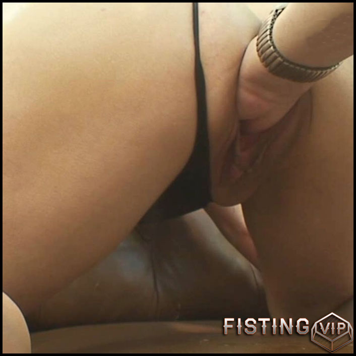 Fisting in the dungeon II - part 1 of 3 - HD-720p, double fisting, anal video (Release May 19, 2017)