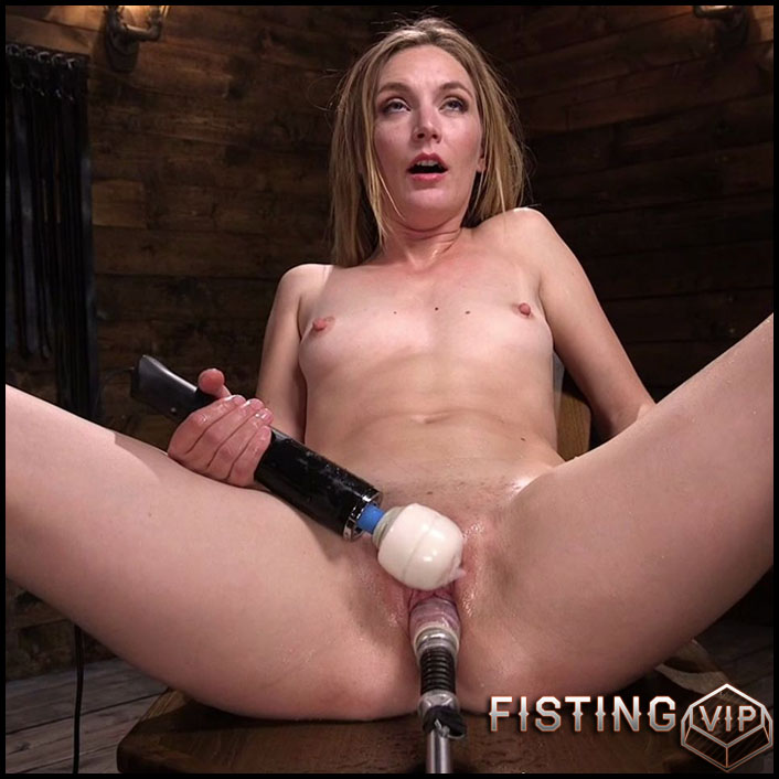 Fucking Machine Squirt-a-thon with Mona Wales - HD-720p, Sex Machine, Vibrator, AnalToys (Release May 29, 2017)1