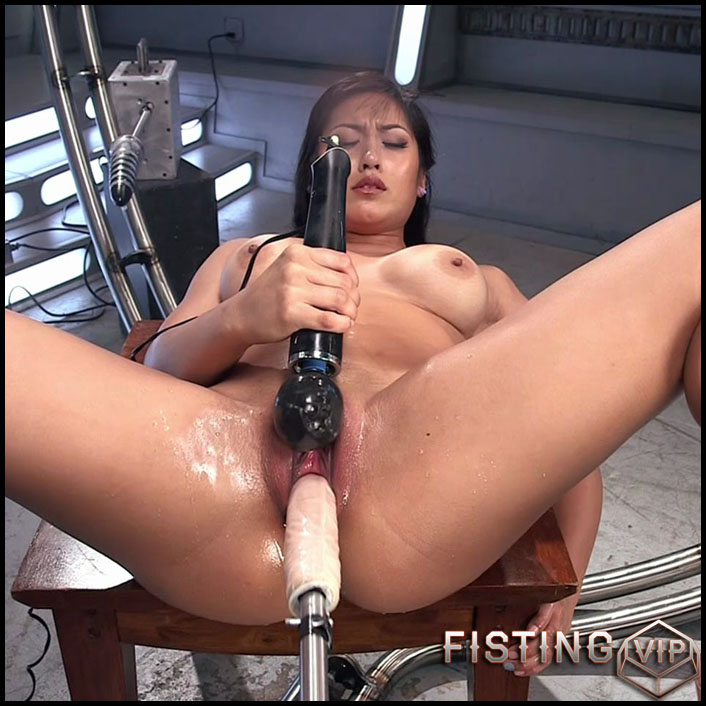 Hard and Fast Fucking in Mia's Pussy and Ass - HD-720p, double fisting, Sex Machine, Vibrator (Release May 20, 2017)