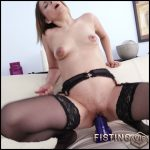 Jessica Spielberg really huge dildo penetration – Full HD-1080p, Dildo, Anal, Toys, Masturbation (Release May 14, 2017)