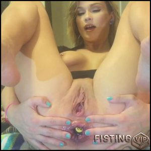 Ladydragonfly – Anal Fisting Makes Me Squirt – Full HD-1080p, hardcore fisting, prolapse ass, Anal Toy (Release May 24, 2017)