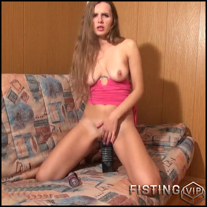Pussy stretching with monster dildos - Sexy Naty - Full HD-1080p, webcam, anal, anal insertion, Toys (Release May 20, 2017)1